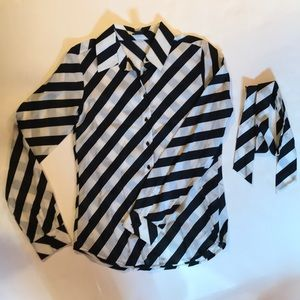 Club Monaco Striped Top